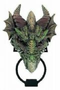 Dragon Door Knocker Novelty Door Decoration Fantasy Ornament for the Gothic Home